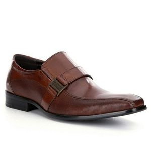 Kenneth Cole Reaction Leather Side Bit Loafers
